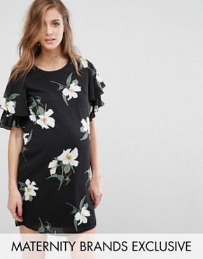 photo Floral Printed Shift Dress by Queen Bee, color  - Image 1