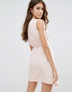 photo Wrap Dress by Wal G, color Pink - Image 2