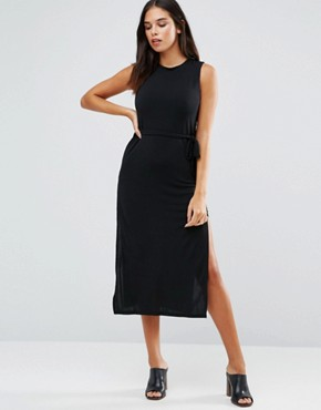 photo Midi Dress by Wal G, color Black - Image 1