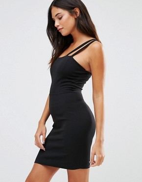 photo Cami Mini Dress by Wal G, color Black - Image 1