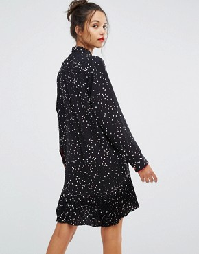 photo Dress with Frill in Dot Print by PS by Paul Smith, color  - Image 2
