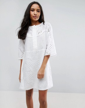 photo Amo Boxy Dress by MiH Jeans, color White - Image 1