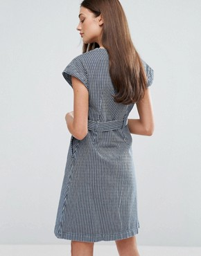 photo Tucson Belted Dress by MiH Jeans, color  - Image 2