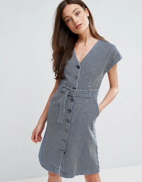 photo Tucson Belted Dress by MiH Jeans, color  - Image 1