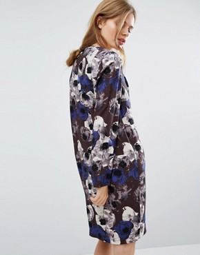 photo Flower Print Dress by Selected Femme, color  - Image 2