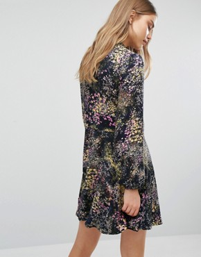 photo Printed Skater Dress by Warehouse, color  - Image 2