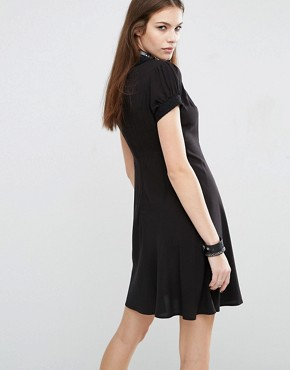 photo Babydoll Dress by Tripp NYC, color Black - Image 2