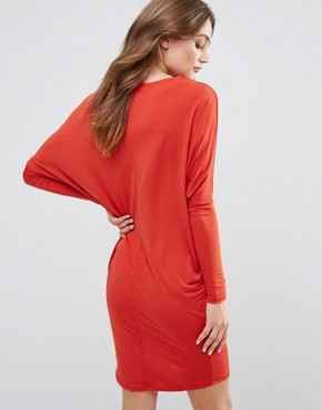 photo Long Sleeve Dress by Glamorous, color Rust - Image 2