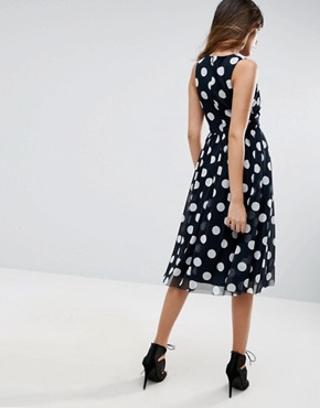 photo Spot Mesh Midi Dress by ASOS, color  - Image 2