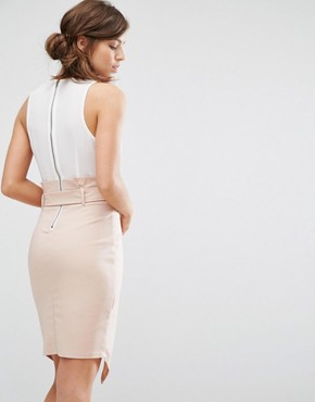 photo 2 In 1 Dress with Wrap Front and Tie Waist by Parallel Lines, color  - Image 2
