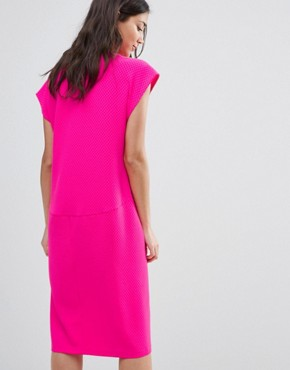 photo Midi Shift Dress by Traffic People, color Pink - Image 2