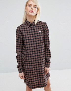 photo Tartan Dress by Fred Perry, color  - Image 1