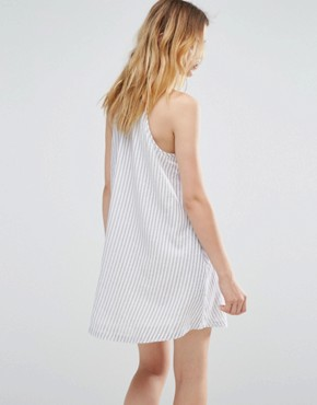 photo Stripe Swing Dress by Native Youth, color  - Image 2