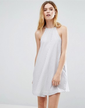 photo Stripe Swing Dress by Native Youth, color  - Image 1