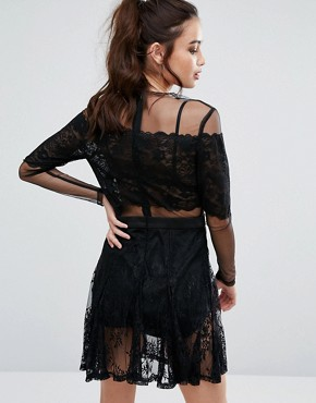 photo Wicked Games Dress by Asilio, color Black - Image 2