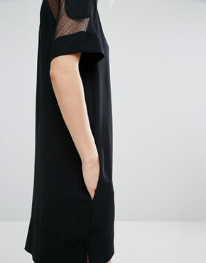 photo Mouton Dress by Samsoe & Samsoe, color Black - Image 3
