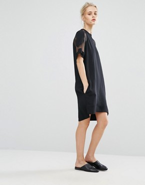 photo Mouton Dress by Samsoe & Samsoe, color Black - Image 4