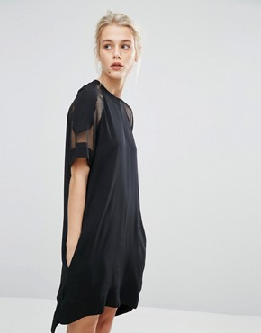 photo Mouton Dress by Samsoe & Samsoe, color Black - Image 1