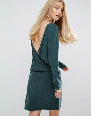 photo Malia Dress by Samsoe & Samsoe, color Darkest Spruce - Image 2