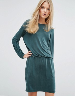 photo Malia Dress by Samsoe & Samsoe, color Darkest Spruce - Image 1