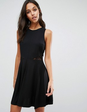 photo Lace Back Dress by Samsoe & Samsoe, color Black - Image 2