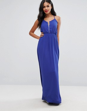 photo Maxi Dress by Girls on Film, color Blue - Image 1