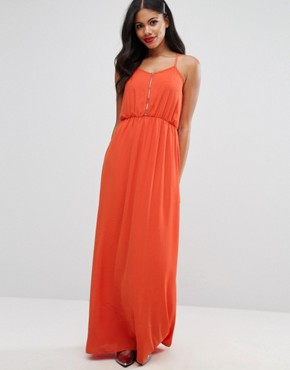 photo Maxi Dress by Girls on Film, color Red - Image 1
