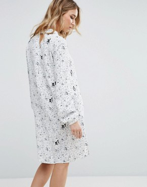 photo Printed Shirt Dress by Vila, color  - Image 2