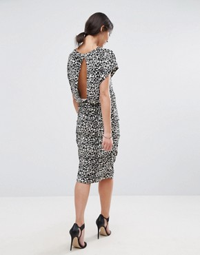 photo Leno Glitter Cocoon Dress by Selected, color Sandshell/Black - Image 2