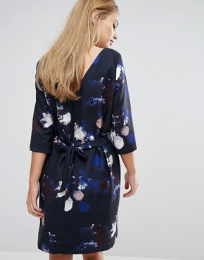 photo Long Sleeve Print Dress by Selected Femme, color  - Image 2
