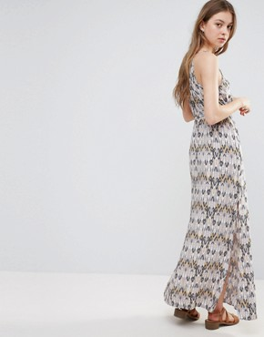 photo Printed Belted Maxi Dress by Vero Moda, color Ash - Image 2