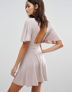 photo Kimono Sleeve Dress by Love, color Camel - Image 2