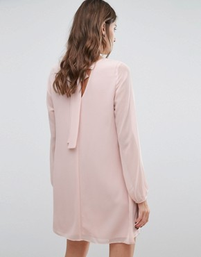photo Flared Sleeve Dress by BCBGeneration, color Pink - Image 2