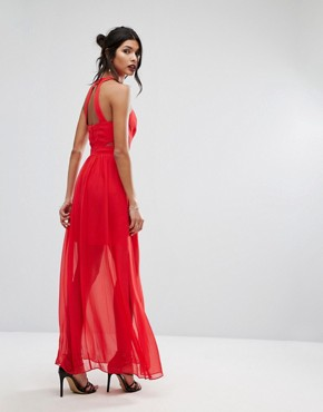 photo Red Gown by BCBGeneration, color Red - Image 2