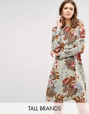 photo Ilvaley Long Sleeve Printed Dress by Y.A.S Tall, color  - Image 1