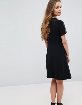 photo Ege A-Line Dress by Samsoe & Samsoe, color Black - Image 2