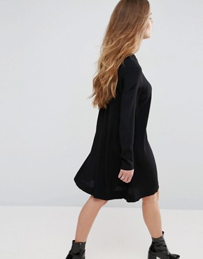 photo Boise Shift Dress by Samsoe & Samsoe, color Black - Image 2
