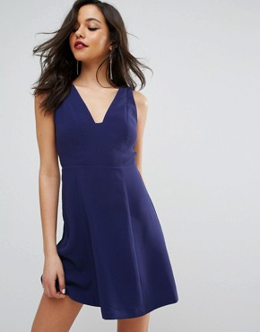 photo A-Line Party Dress by BCBG Max Azria, color Navy Sea - Image 1