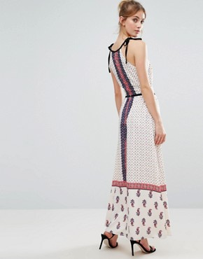photo Paisley Print Maxi Dress by The English Factory, color Paisley - Image 2