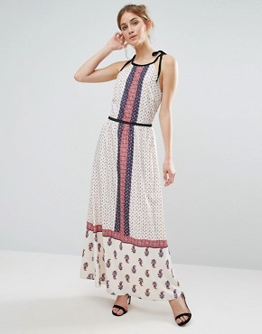 photo Paisley Print Maxi Dress by The English Factory, color Paisley - Image 1