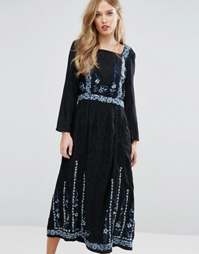 photo Argento Dress by French Connection, color Black Multi - Image 1