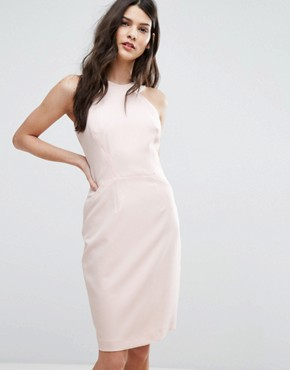 photo Modern Kantha Crepe Dress by French Connection, color Capri Blush - Image 1