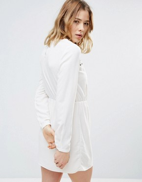 photo Smock Dress by First & I, color White - Image 2