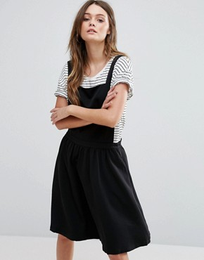 photo Pinafore Dress by Minimum, color Black - Image 1