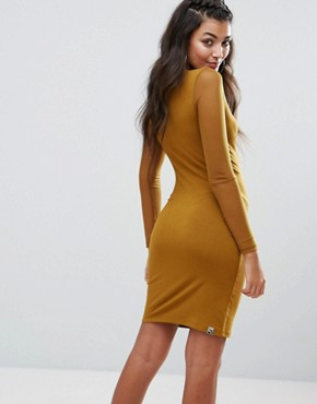 photo Bodycon Mesh Dress by Puma, color Tapenade - Image 2