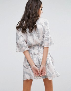photo Soft Love Mini Dress with Ruffles by Stevie May, color  - Image 2