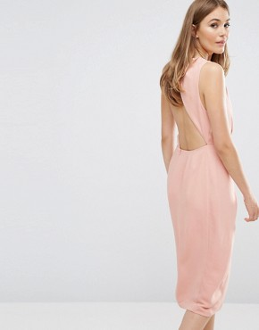 photo Without You Dress by Keepsake, color Dusty Rose - Image 2