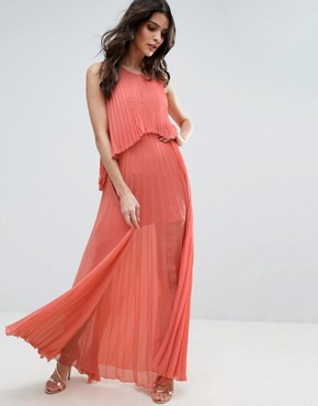photo Angel Delight Pleated Dress by Jovonna, color Pink - Image 1