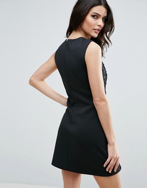 photo Never Hide Dress by Jovonna, color Black - Image 2