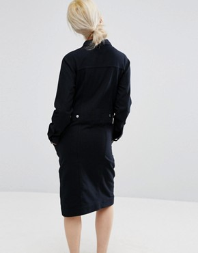 photo Utility Dress by Weekday, color Black - Image 2